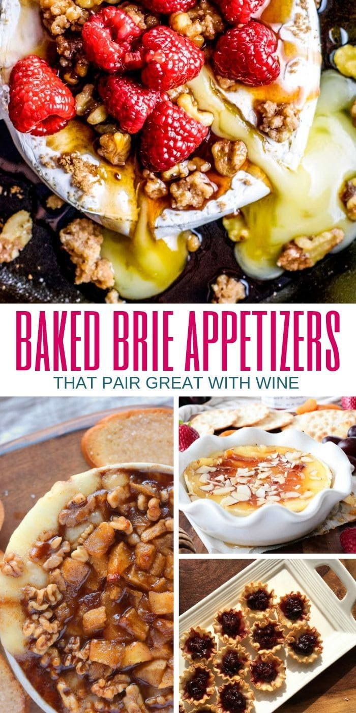 baked brie appetizers