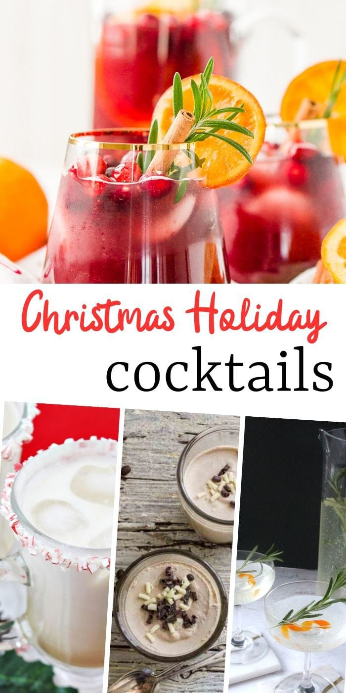 Delightfully Delicious Christmas Cocktails | Cocktails for Christmas | Boozy Christmas Drink Recipes | Christmas Drinks | Alcoholic Drink Recipes for Christmas | Christmas Cocktails for a Crowd | Christmas Cocktails Easy | Christmas Cocktails Recipe | #cocktails #christmas #recipe #drinks