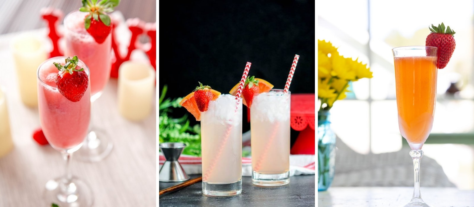 Strawberry Alcoholic Drinks