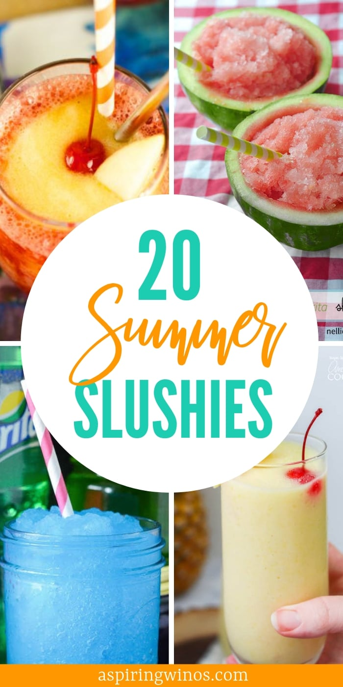 adult summer slushies