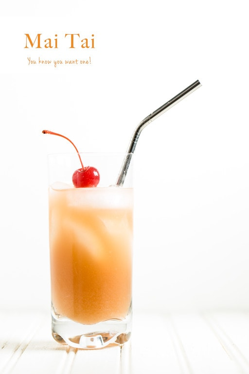 Rum Cocktail Idea - Easy Mai Tai