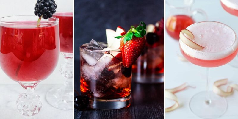 Rocking RedCocktailRecipes | Cocktails for a Red Wedding | Cocktails for a Bridal Shower | Cocktails for a Party | Themed Cocktails | Red Cocktails Recipes | The Best Red Cocktails | #wedding #cocktails #redcocktails #shower #party