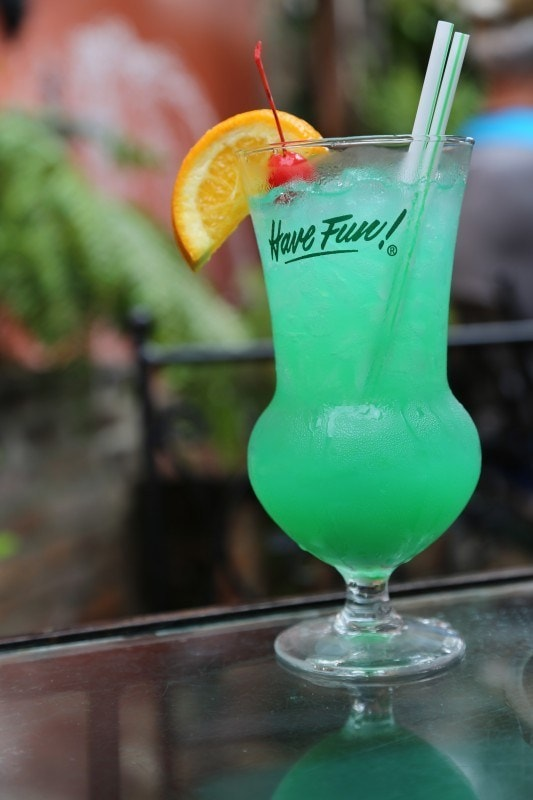 Green Cocktails To Celebrate St. Patrick's Day Without Beer - Fuzzy Leprechaun Cocktail