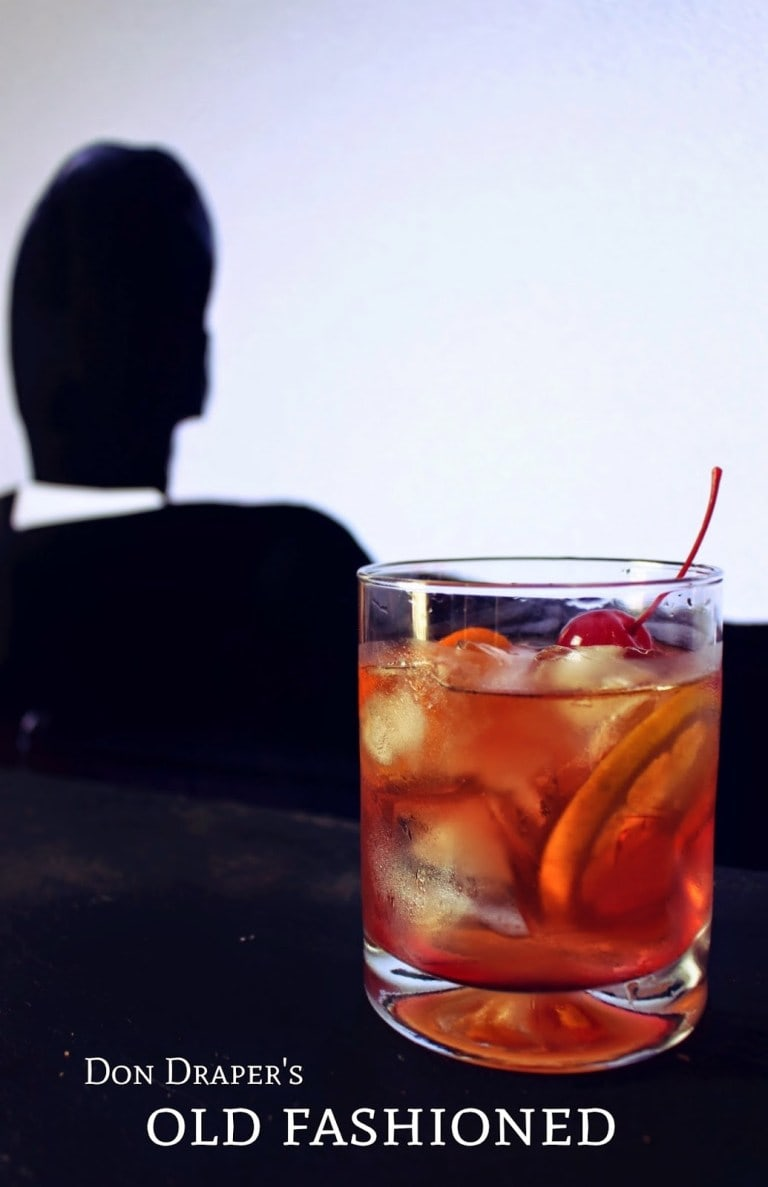 Mad Men Old Fashioned| Iconic Cocktails from Movies