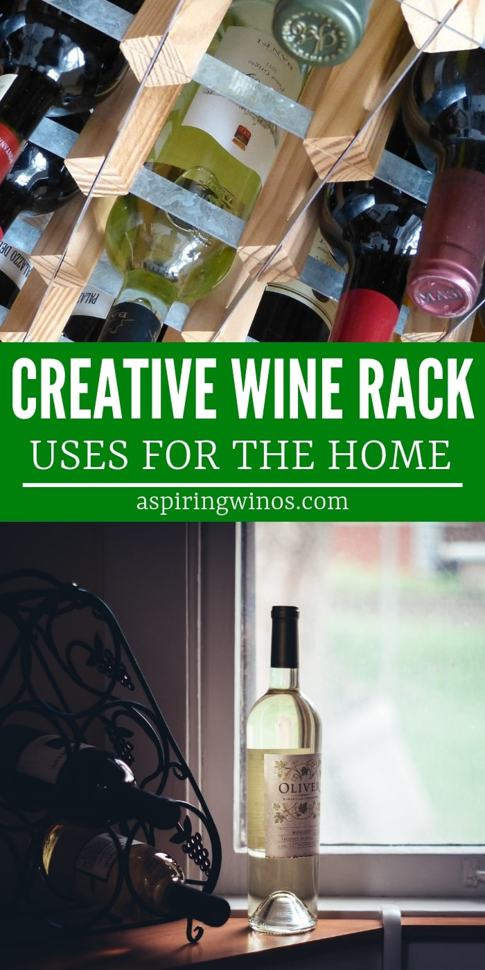 Take those spare wine racks and #repurpose them with one of these uses for your wine racks that isn't storing wine! These space saving #hacks for #organization will give you creative #storage solutions for small spaces that make storage seem to appear out of thin air. #Organize your life more easily by #reusing what you already have.