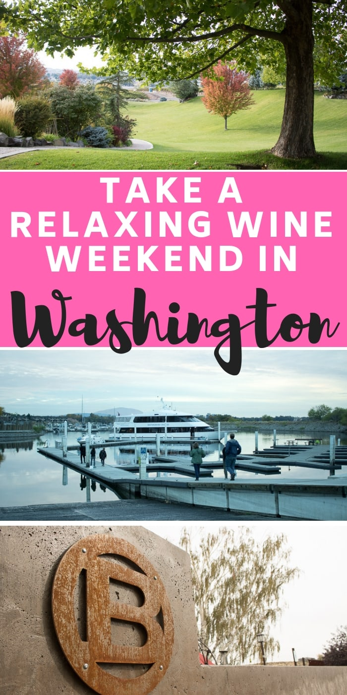 Plan a relaxing weekend away to wine country, in the Tri-Cities, WA, with friends or family. Take in the gorgeous views, sip on deligtful red wines and use our handy travel itinerary for the USA to not have to plan a thing!