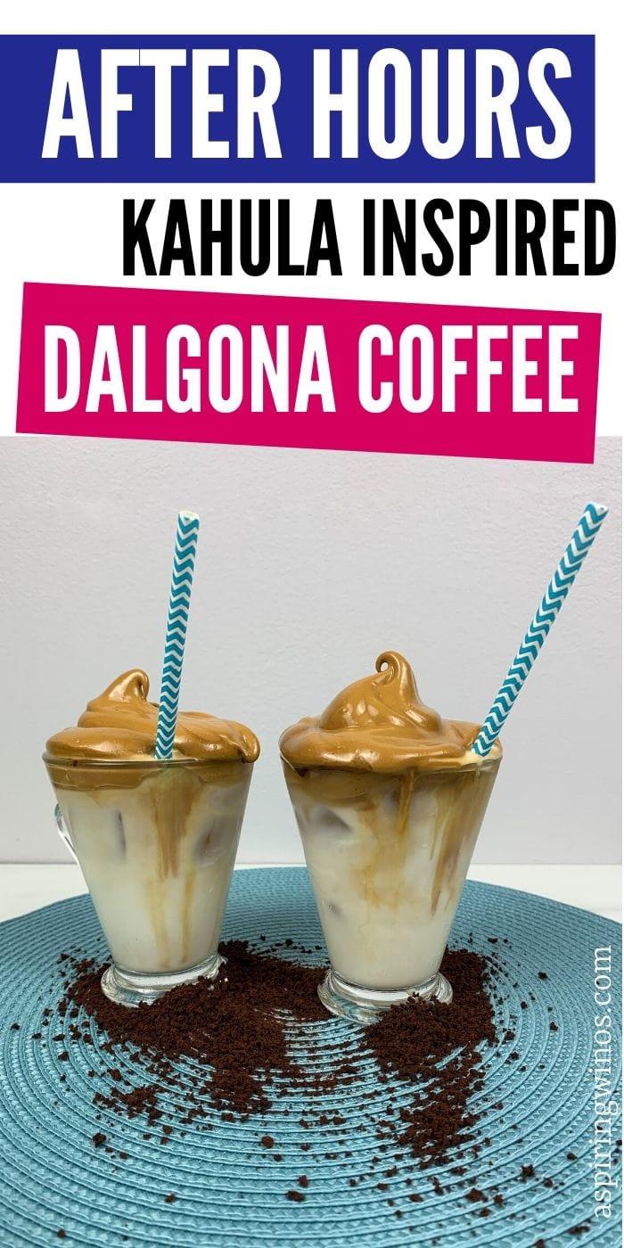 After Hour Dalgona Coffee: Baileys or Kahlua | Baileys Dalgona Coffee | Kahlua Dalgona Coffee | Boozy Coffee | Dalgona Coffee Recipe | How to Make Dalgona Coffee | How to Make Coffee with Baileys | How to Make Coffee with Kahlua | #coffee #morningbooze #boozycoffee #kahlua #baileys
