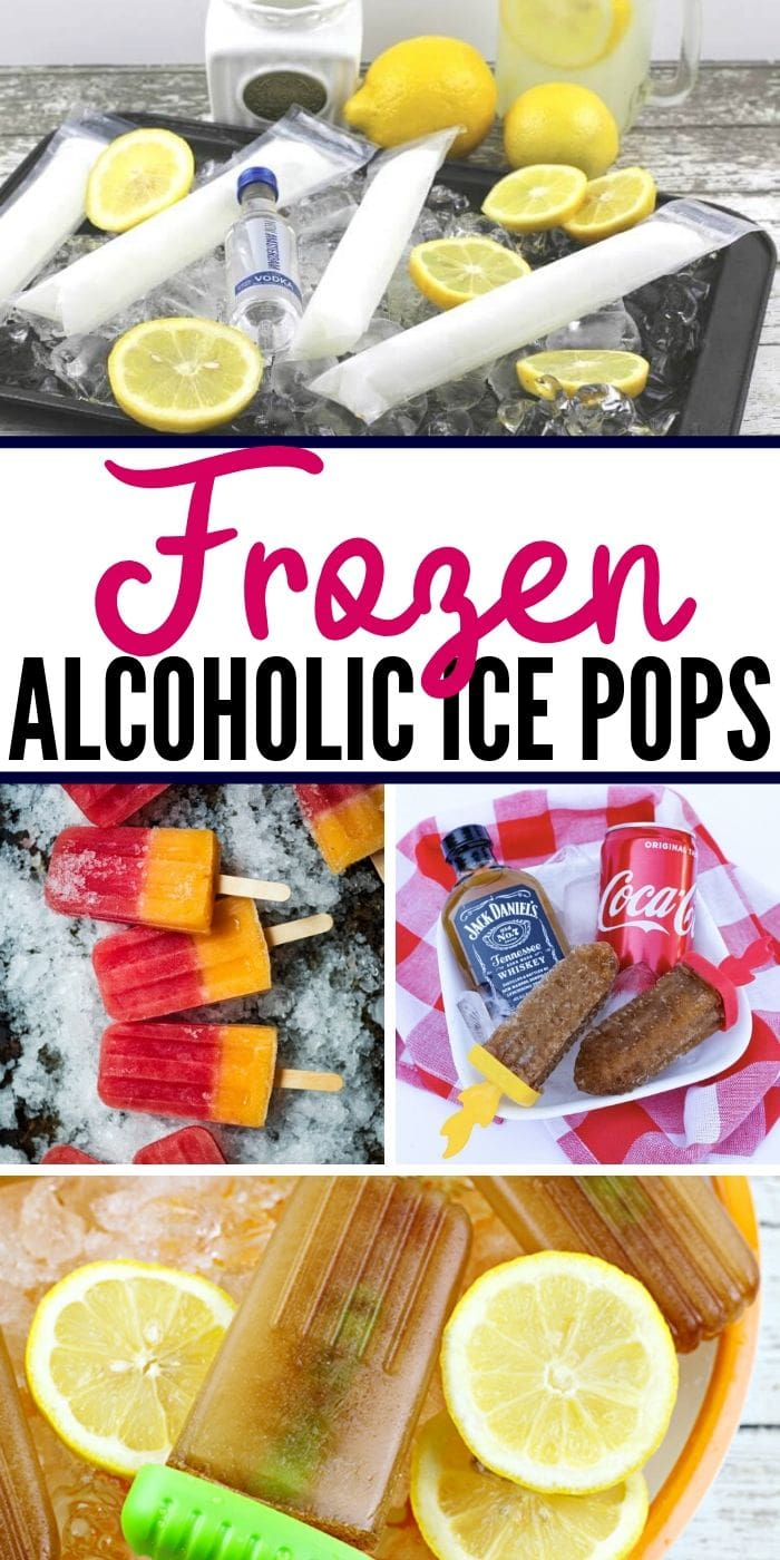 Throw together an amazing boozy adult summertime treat to cool off in the backyard this year. There are over 30 boozy ice pop recipes to make, your popsicles are going to bring everyone to the yard. Pick from wine, vodka, rum, fruit, cream and more. #icepops #adult #refreshing #treat #boozy
