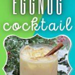 Amaretto Cocktail Recipe | Eggnog Cocktail Recipe | Best Winter Cocktails | Seasonal Cocktails Recipes | Dessert Cocktail Recipes | #eggnog #recipe #cocktial #seasonal #christmas
