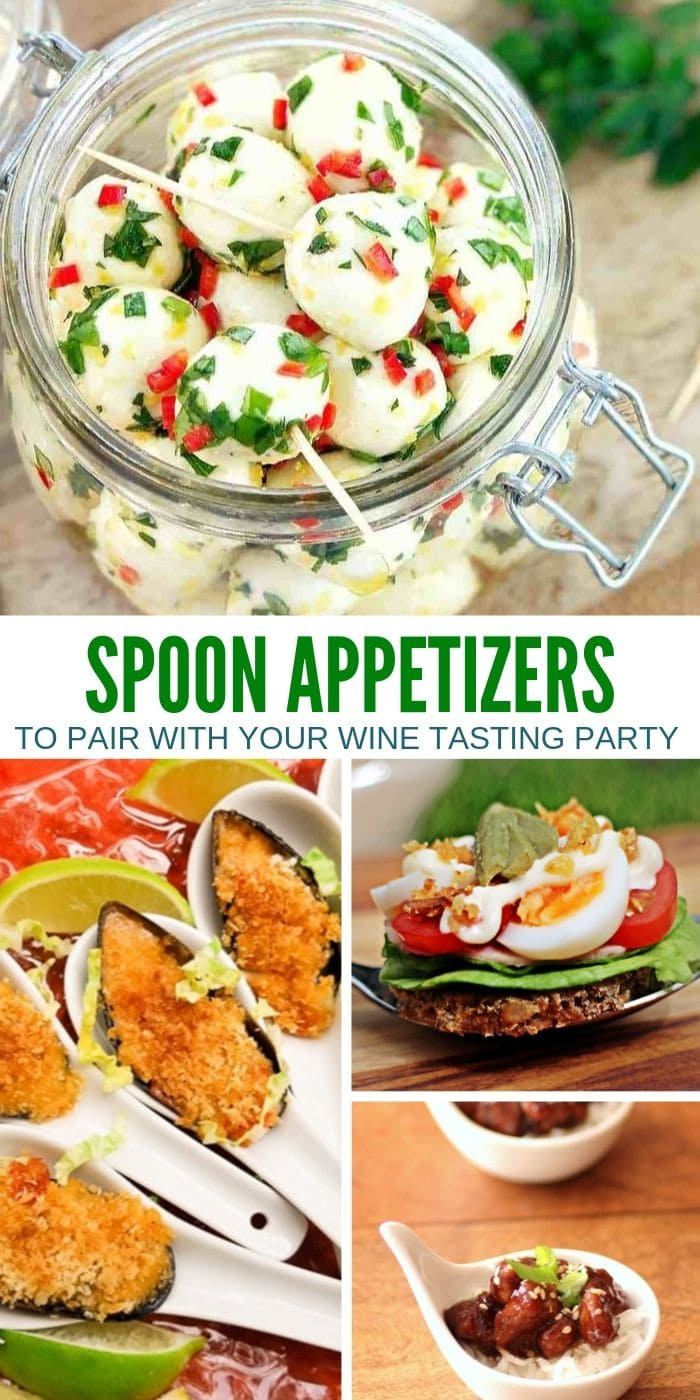 Appetizers To Serve On Spoons or Toothpicks | Appetizers to Serve at Parties | Easy Appetizers | No Mess Appetizers | Appetizers on Spoons | Appetizers on Toothpicks | #appetizers #toothpickappetizers #spoonappetizers