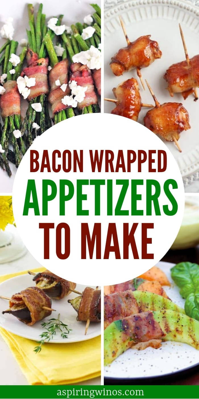 Bacon-Wrapped Appetizer Recipes | Bacon Wrapped Anything | Bacon Appetizers | The Best Bacon Wrapped Appetizer Recipes | Bacon Appetizers for Your Next Party | Wine Tasting Party Appetizers | Wine and Appetizers #bacon #recipes #appetizers #partyfood