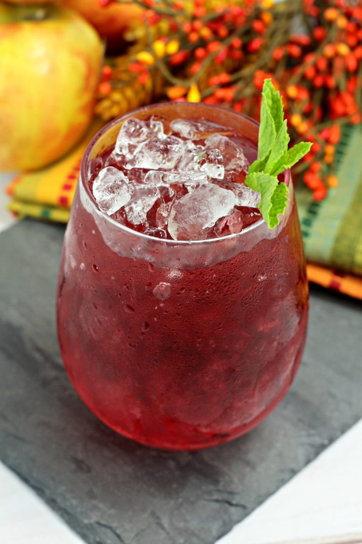 Berry Apple Cocktail
