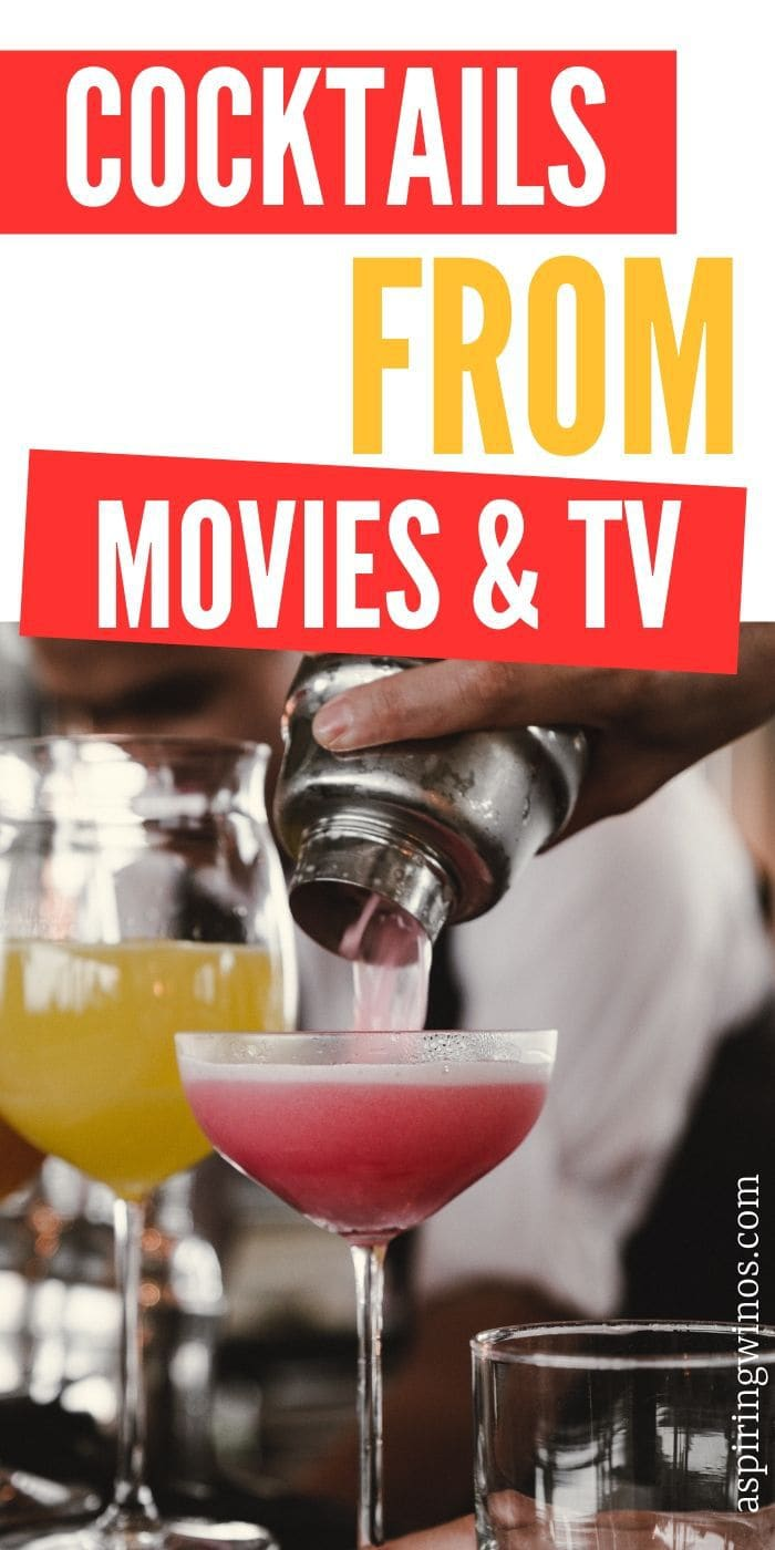 Iconic Cocktails from Movies