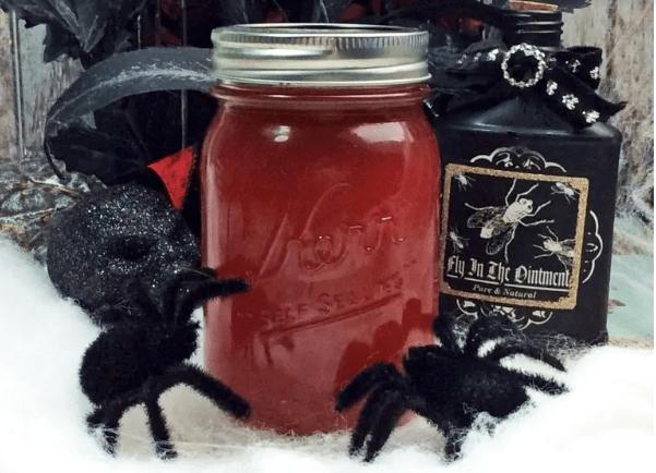 Spooky Halloween Cocktail Recipe - Black Widow Venom Moonshine