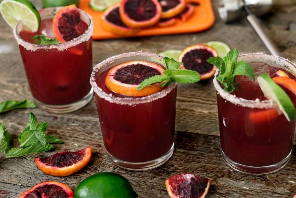 Delicious Margaritas to Make This Summer - Blood Orange Margarita Recipe