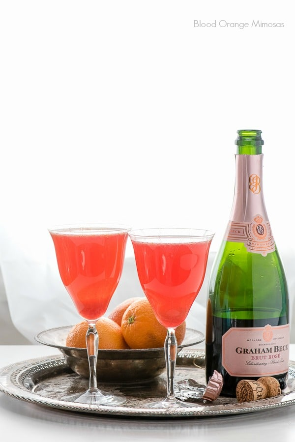 Blood Orange Mimosas: A New Brunch Cocktail