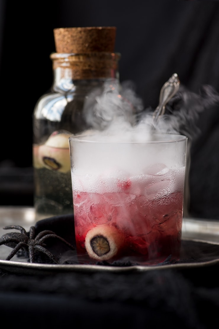 Spooky Halloween Cocktail Recipe - Bloody Good Gin and Tonic