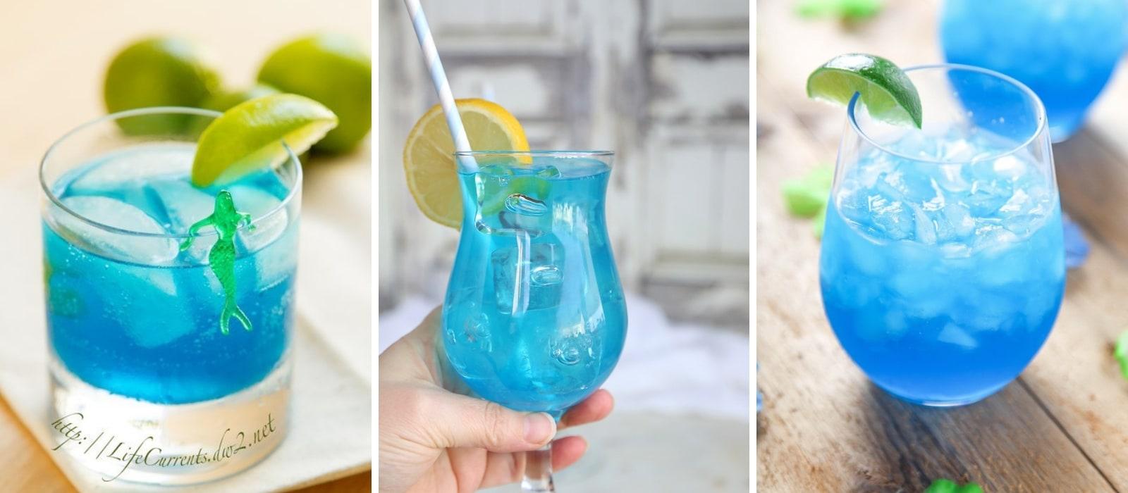Blue Cocktail Recipes