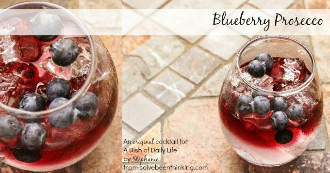 Blueberry Vodka Prosecco