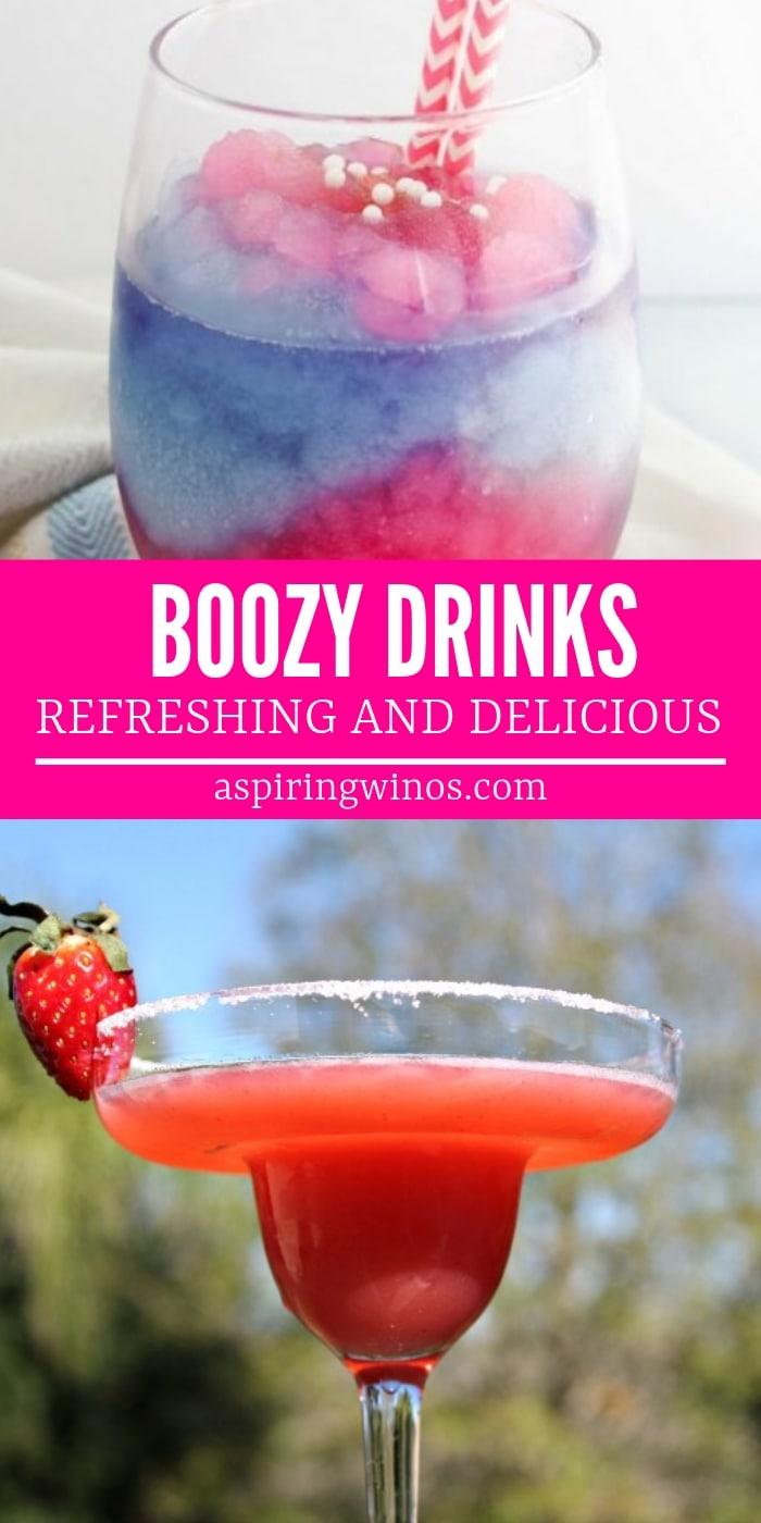 Refreshing Boozy Drink Recipes