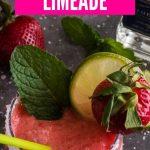 Boozy Strawberry WatermelonLimemade| Strawberry Watermelon Limemade Margarita | Strawberry Watermelon Cocktail | Best Summer Cocktail | Summer Cocktails | Cocktail for Summer Festivities | #cocktail #watermelon #strawberry #tequila #party #goals