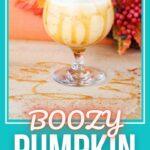 Pumpkin Spiced Milkshake | Boozy Pumpkin Spiced Cocktail | Thanksgiving Cocktail Ideas | Recipes for Fall Cocktails | Creamy Fall Cocktails | Milkshake Cocktails | #cocktails #fall #thanksgiving #recipe #spicedrum