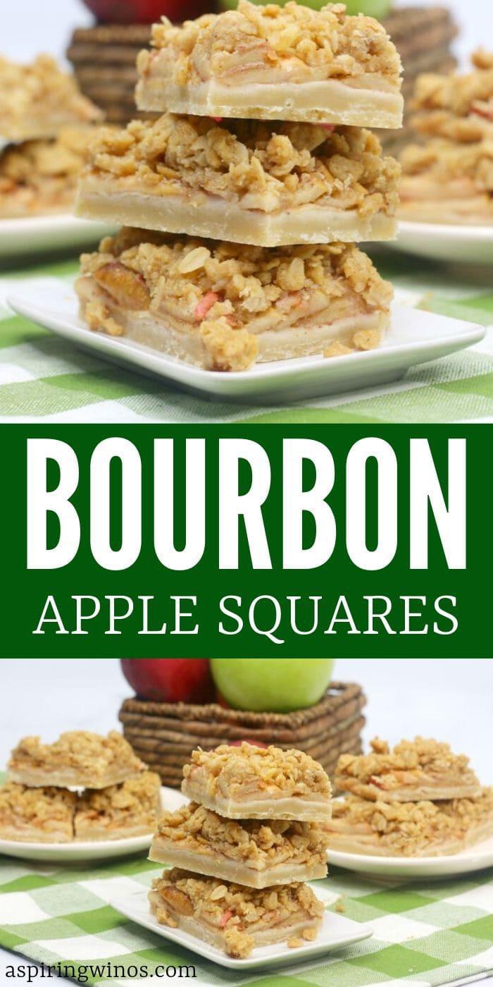 Bourbon Apple Bars | Bourbon Apple Bars Recipe | How to Make Bourbon Apple Bars | Fall Apple Recipes | Baking Treats Made with Apples | What are Bourbon Apple Bars | Can Bourbon Apple Bars Make me Drunk | #bourbon #alcoholnsnacks #applebars #recipe