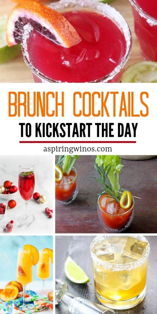 Delicious Brunch Cocktails to start the Day Off Right | Alcoholic Cocktail Recipes for Brunch | Make cocktails for a crowd, whether it's winter, spring, summer or fall, there's a perfect cocktail recipe out there. Some you can prepare from pitchers, so it's easy to serve a crowd These will wow your friends and make party planning easy! #cocktail #champagne #brunch #vodka