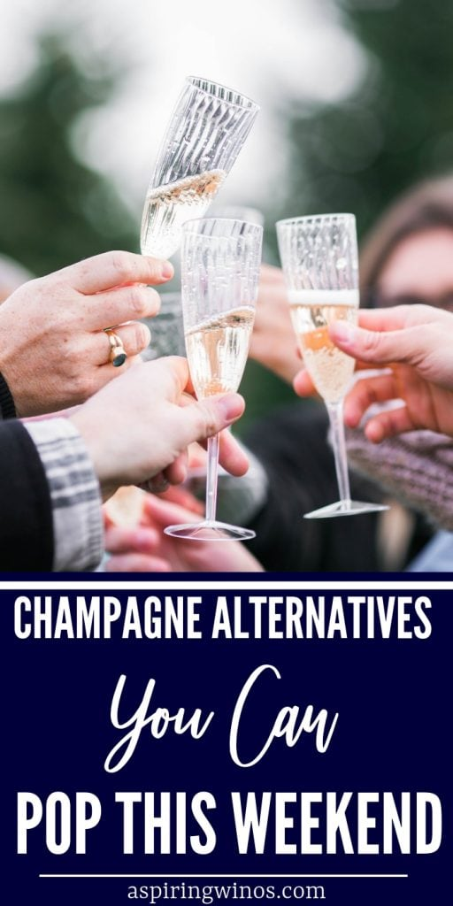 Best Alternative to Champagne| Non-acoholic Alternative to Champagne | What to Drink Instead of Champagne | Cheaper Alternatives to Champagne | Sparkling Wine Ideas that Aren't Champagne | Prosecco, Cava, Asti, Spumanti #champagnealternatives #cocktails #wine #champagne #bubbles