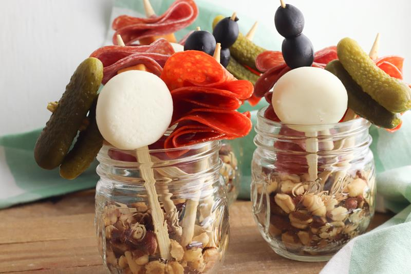 Charcuterie Jars you can make at home