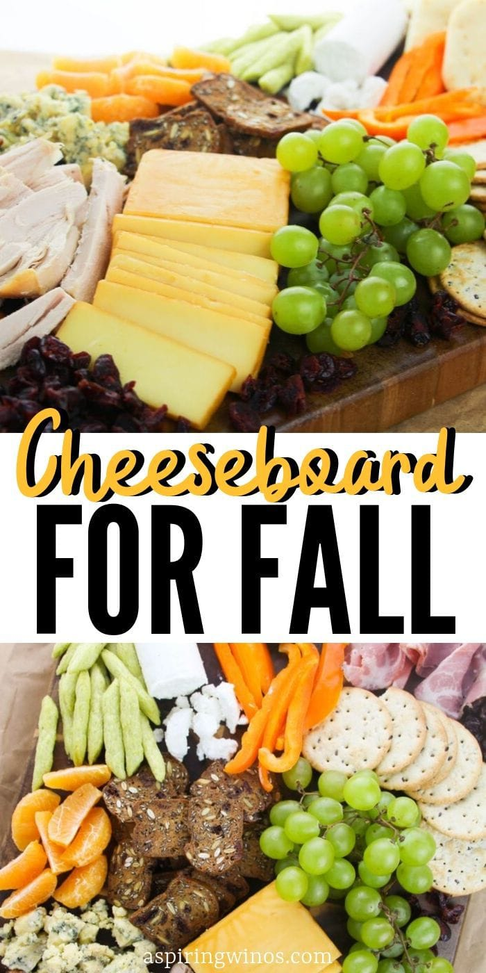 Fall Cheeseboard | Wine and Cheese | Appetizer Ideas | Meats you want on your Charcuterie Platter | Meat and Cheese Platter | #fall #appetizer #thanksgivingplatter #cheesenwine #cheese