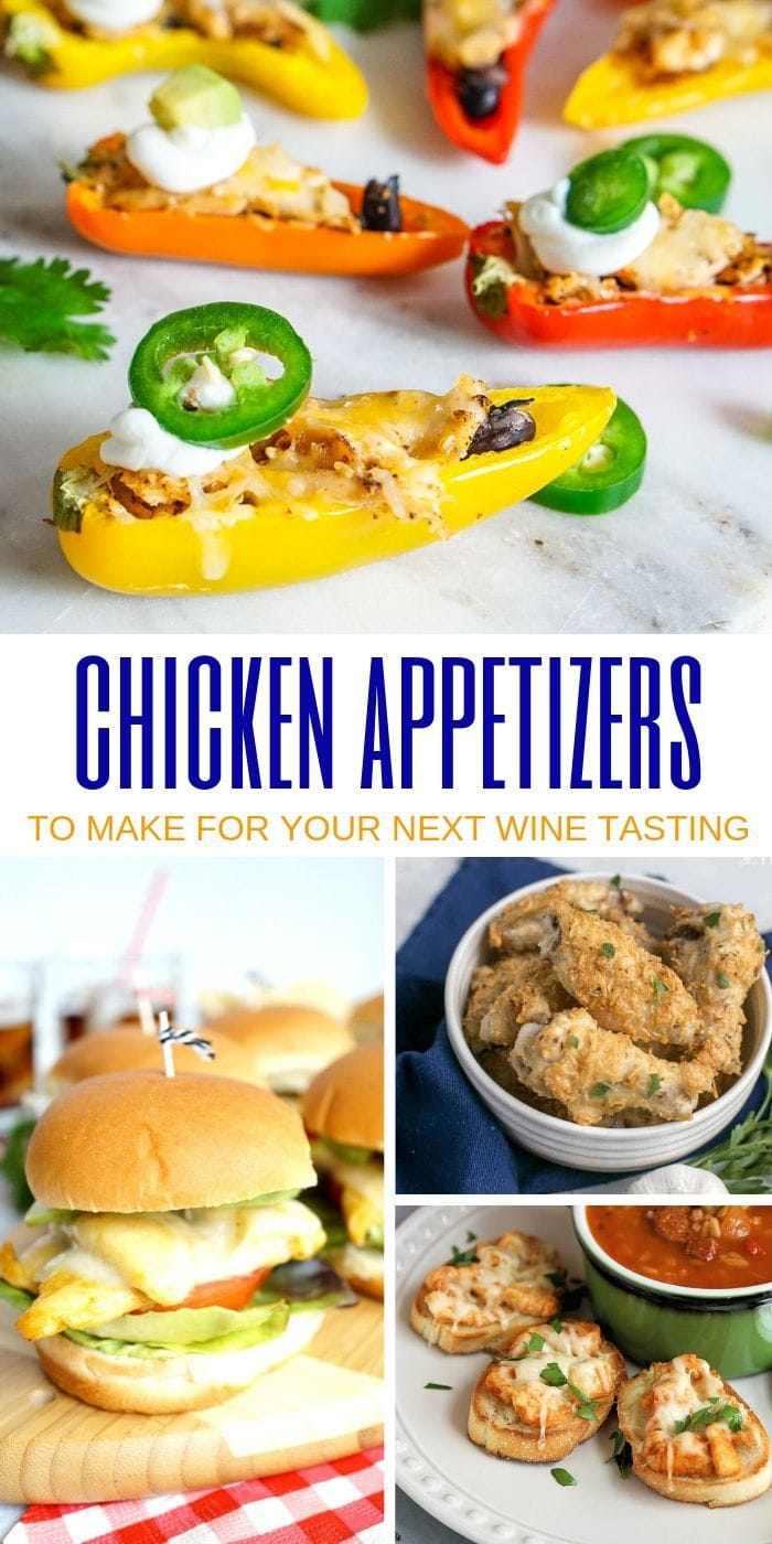 recipes for appetizers