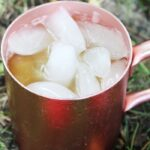 Moscow Mule Apple Cider Recipe | Fall Cocktail Recipe | Apple Cider Mule | Ginger Beer Mule Recipe | Apple Cider Rum Recipe | Fall Rum Cocktails | Fall Cocktails Recipes | #rum #mule #cider #cocktail #fall