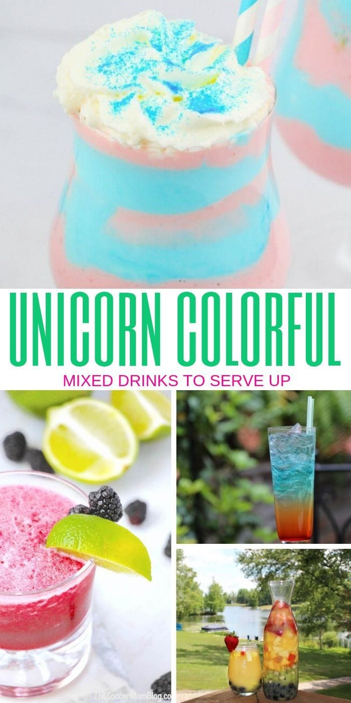 unicorn cocktails