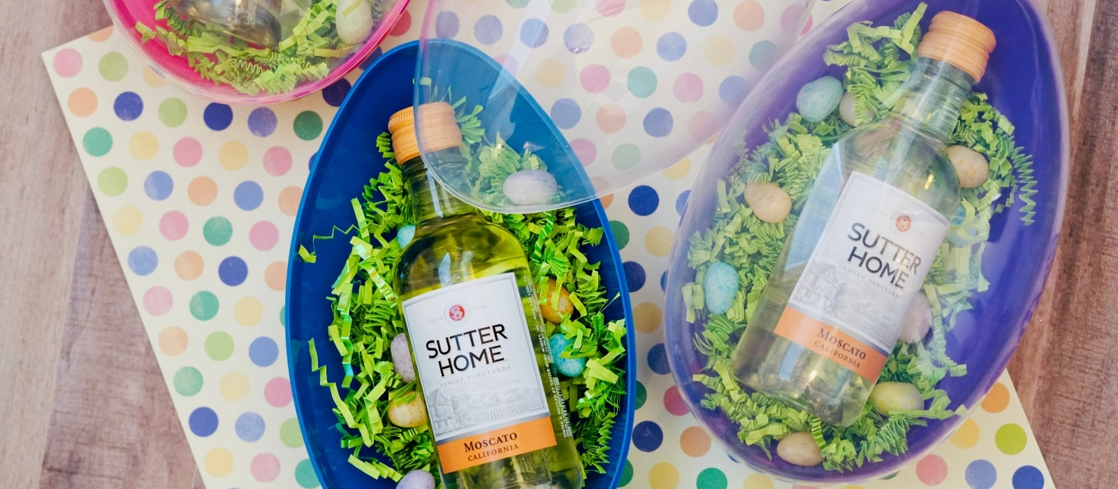 Boozy Adult Easter Eggs for Wine Lovers