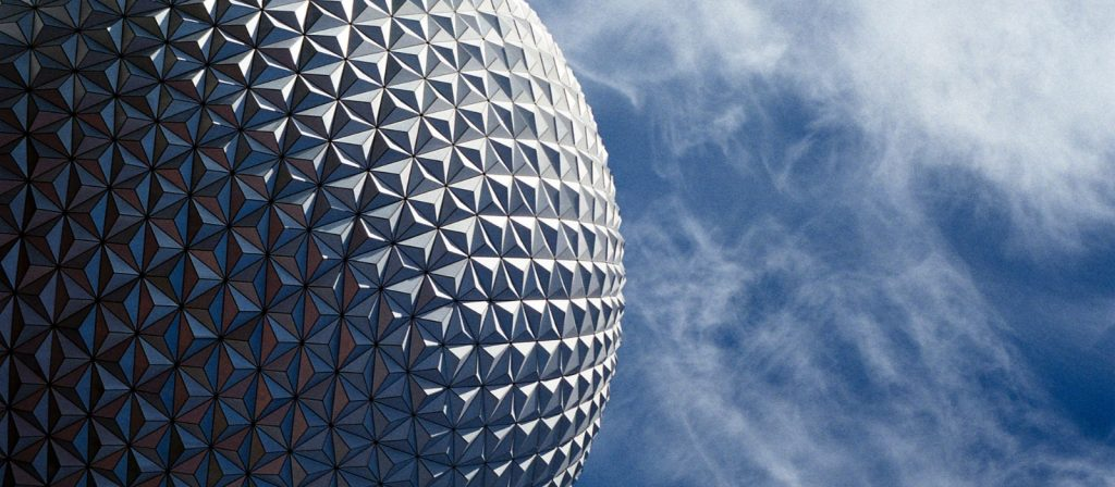 Disney Food & Wine Festival - the big epcot ball