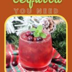 Cranberry Tequila Drink | Tequila Christmas Drink | Tequila Cocktail | Cranberry Cocktail Ideas | The Best Christmas Cocktails | Tequila Spritzer Cocktail | Seltzer Cocktail Recipe | #cocktail #cranberry #christmas #holidays #recipe