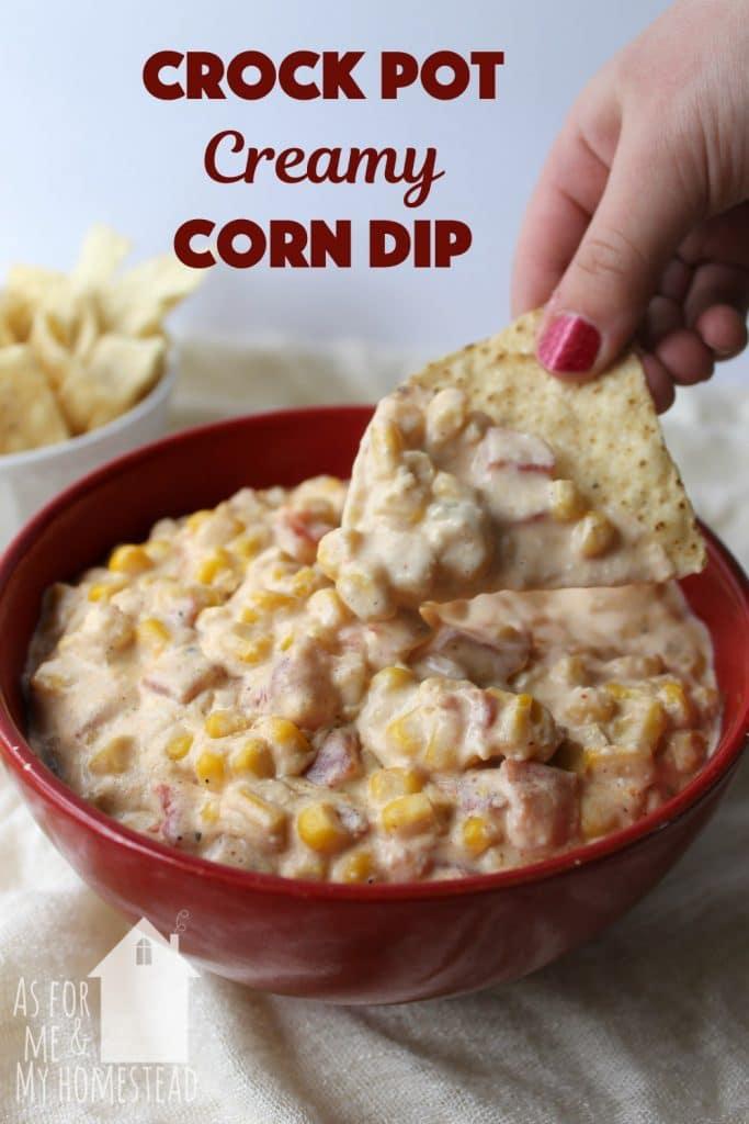 Creamy Crockpot Corn Dip