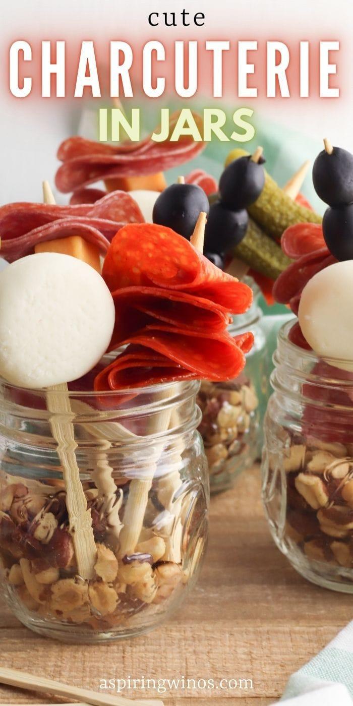 Customizable Charcuterie Jars