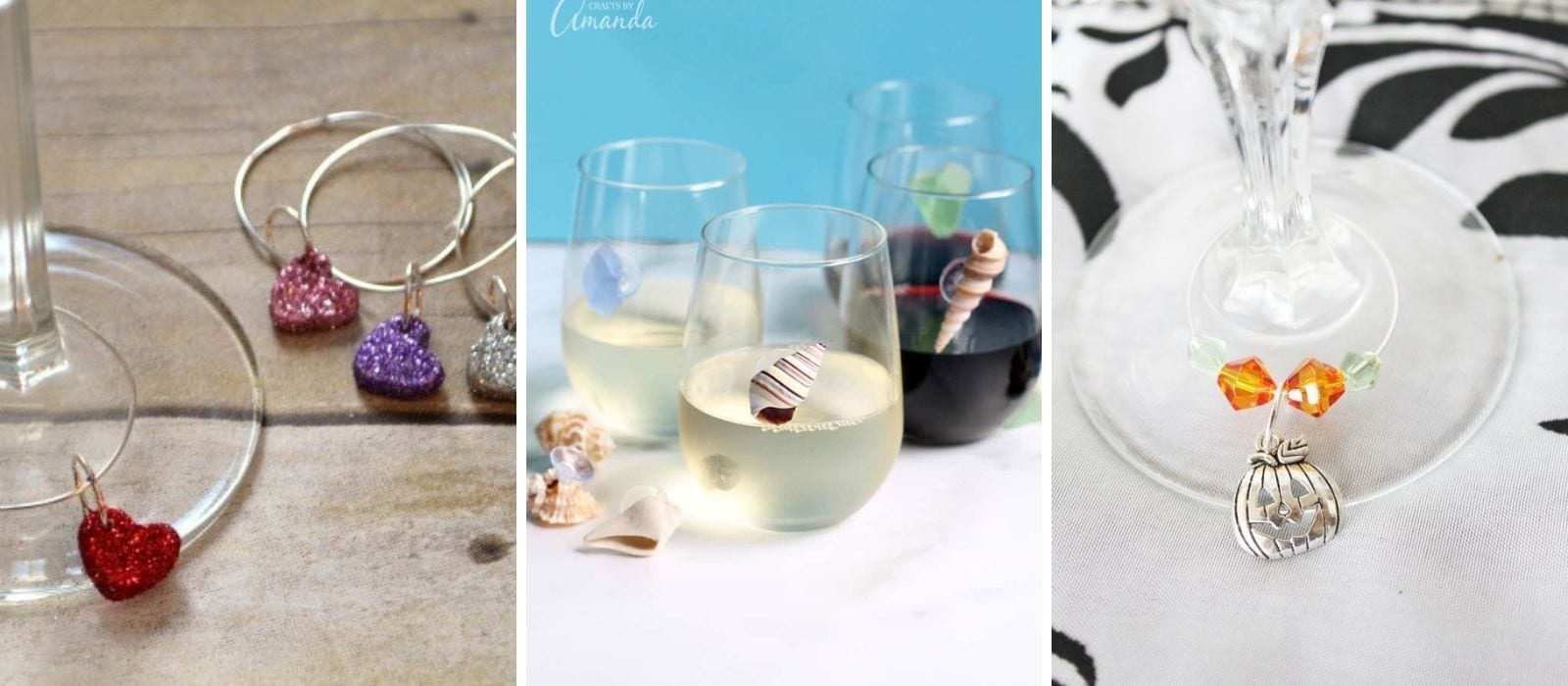 DIY Wine Charm Tutorials| Gift Ideas for Wine Lovers| Best Wine Charms| How to Make Your Own Wine Charm| Wine and Gifts| #wine #winecharm #DIY #giftideas
