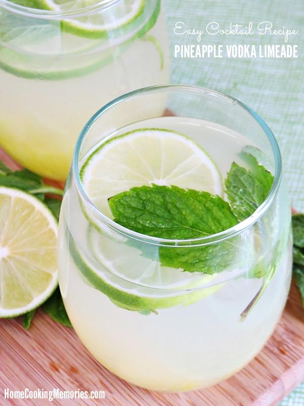 Pineapple Vodka Limeade Recipe