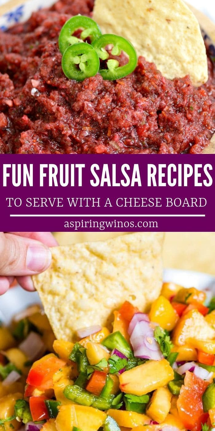 Fun Fruit Salsa To Serve With A Cheese Board | What Kind of Salsa to Put on Your Cheeseboard | Best things to Put on Your Cheeseboard | Salsa Cheeseboard Ideas | #salsa #cheeseboard #recipes #appetizers #snacks