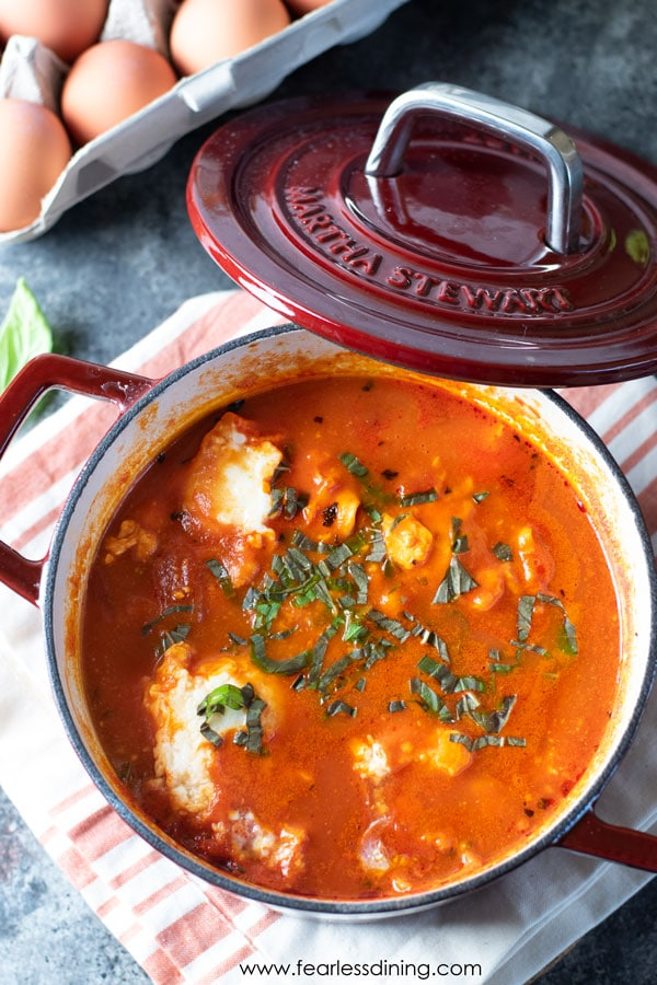 Tomato Based Dishes To Pair With Chianti - Tasty Garden Vegetable Shakshuka Recipe