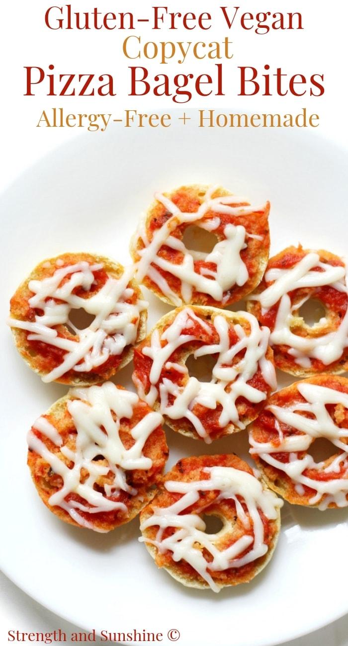 Homemade Gluten-Free Vegan Copycat Pizza Bagel Bites (Allergy-Free)