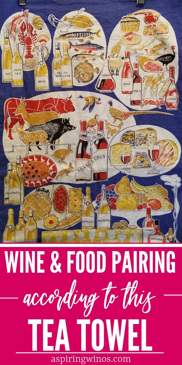 Today we've got the best wine pairing tips we can drum up... from this tea towel. We'll cover how to pair wine with food, with varying levels of success. There's some core principles that we'll learn, including #sparklingwine all sorts of meat, cheese and fowl. #winepairing #wine #wineeducation #humor #winejokes