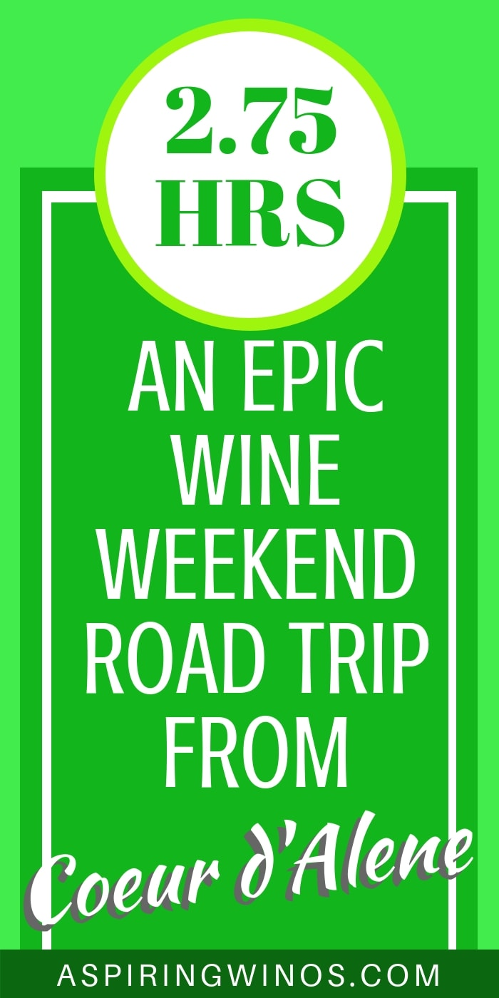 A 3.5 Hour Wine Weekend Road Trip from Coeur d'Alene to the Tri-Cities, Washington How we took an amazing road trip to the Tri-Cities, in the middle of wine country, featuring the Red Mountain AVA and other Columbia Valley producers. There are so many things to do in the Tri-Cities that we were only able to sample a few... wines and activities! #washingtonstate #travel #winetourism #winetravel #wineries