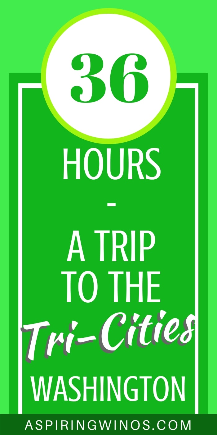 36 Hours in the Tri-Cities, Washington How we took an amazing road trip to the Tri-Cities, in the middle of wine country, featuring the Red Mountain AVA and other Columbia Valley producers. There are so many things to do in the Tri-Cities that we were only able to sample a few... wines and activities! #washingtonstate #travel #winetourism #winetravel #wineries
