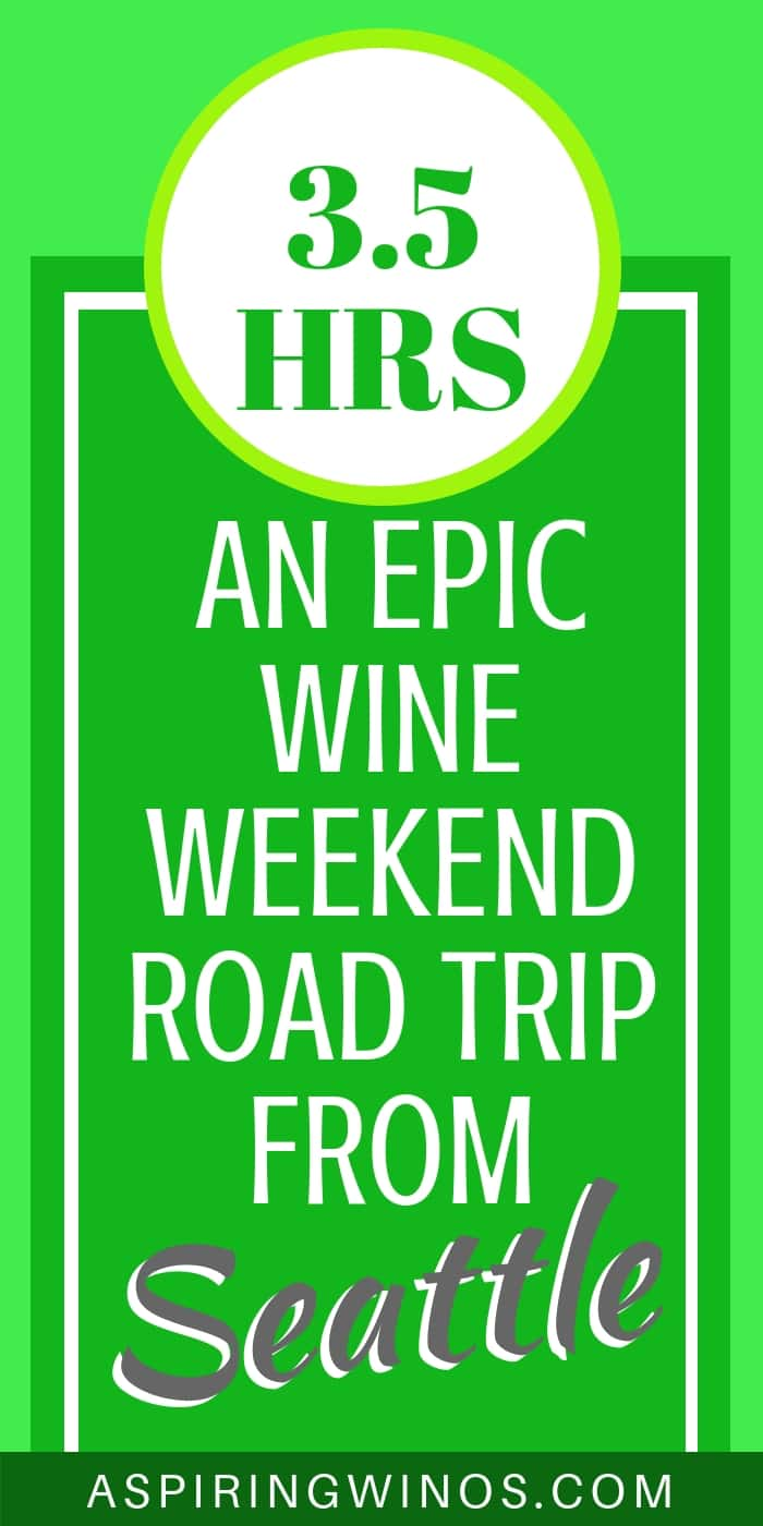 A 3.5 Hour Wine Weekend Road Trip from Seattle to the Tri-Cities, Washington How we took an amazing road trip to the Tri-Cities, in the middle of wine country, featuring the Red Mountain AVA and other Columbia Valley producers. There are so many things to do in the Tri-Cities that we were only able to sample a few... wines and activities! #washingtonstate #travel #winetourism #winetravel #wineries