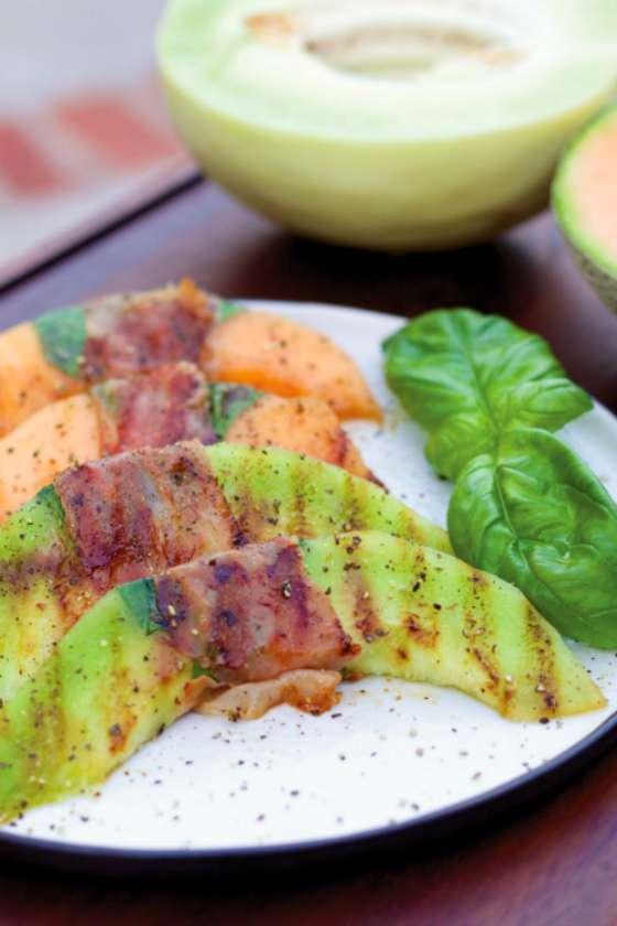 Grilled Prosciutto e Melone