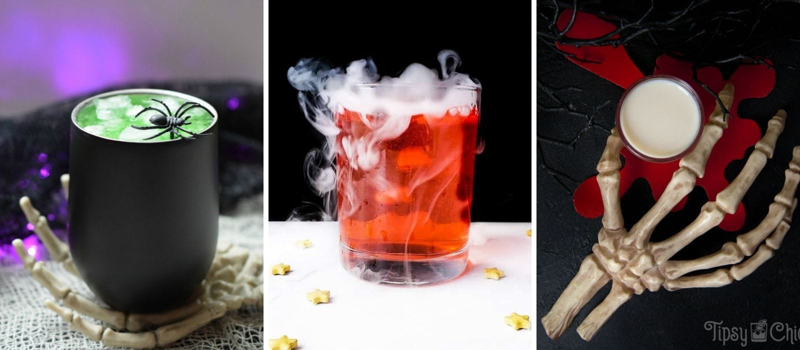 Fun Halloween Drinks: Alcoholic and Non-alcoholic Fun Halloween Drinks  Halloween Drinks  Spooky Drinks  Best Halloween Drinks #halloween #partytime #cocktails #spookydrinks